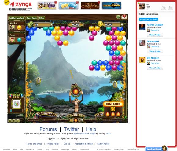 Bubble Safari_On Fire