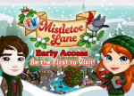 FarmVille MistletoeLane Welcome Page