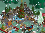 FarmVille Mistletoe Lane Game Board