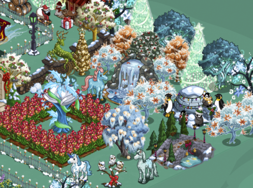 FarmVille Mistletoe Lane Game Board_2