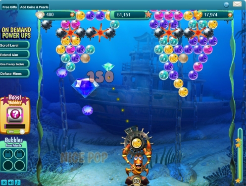 Bubble Safari Ocean Gameplay