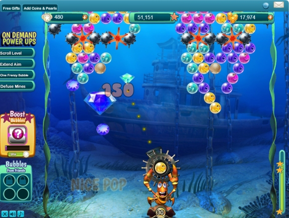 Bubble Safari Ocean Gameplay