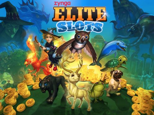 Zynga Elite Slots poster