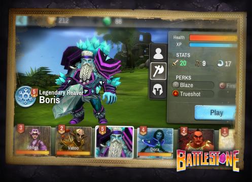 Battlestone HeroSelector