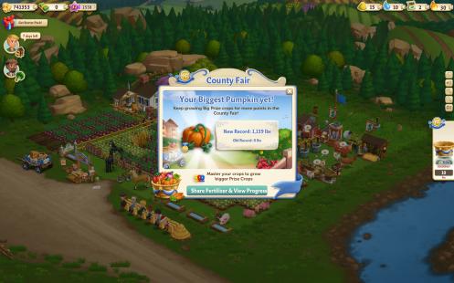 County Fair Prized Pumpkin