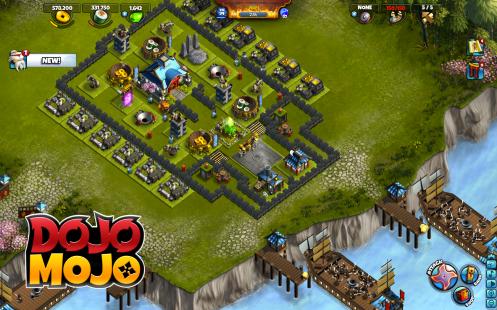Dojo Mojo: Full Village