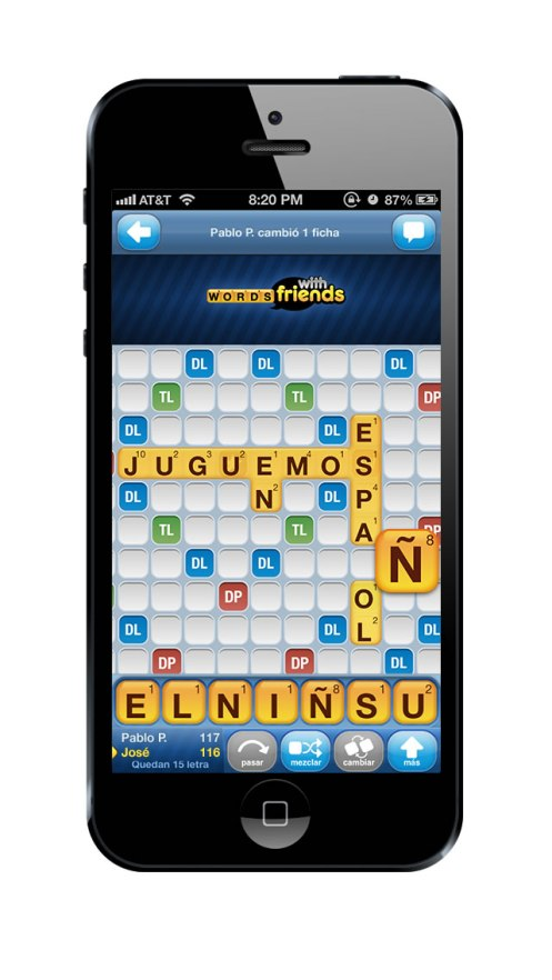Words With Friends Spanish Screenshot