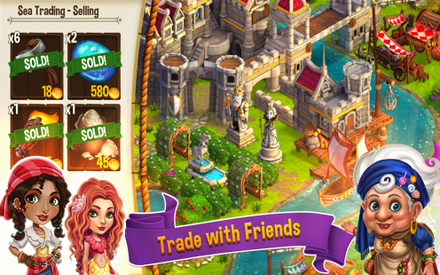 CastleVille Legends Trading