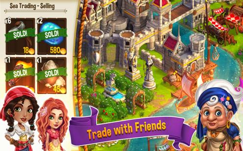 CastleVille Legends Trading