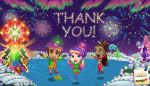 FarmVille Holiday Lights - Thank You!