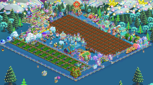 If there's one message I could send to people impacted by the donations made in Holiday Lights, it's: we can, we care, and we love. I know what it's like to go through challenging times, and no child, adult or animal should ever have to go hungry. Playing FarmVille has gotten me through many tough days, and I'm proud to be able to do more by playing the game I love.