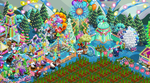 What better way to spend your existence than by helping others in need. When FarmVille began asking players to donate to charitable causes, I thought it was such a smart way to get more people to help one another.  For me personally, I've become more aware of causes because of campaigns in FarmVille, and I wish we will all capture the Christmas spirit of giving all year long.