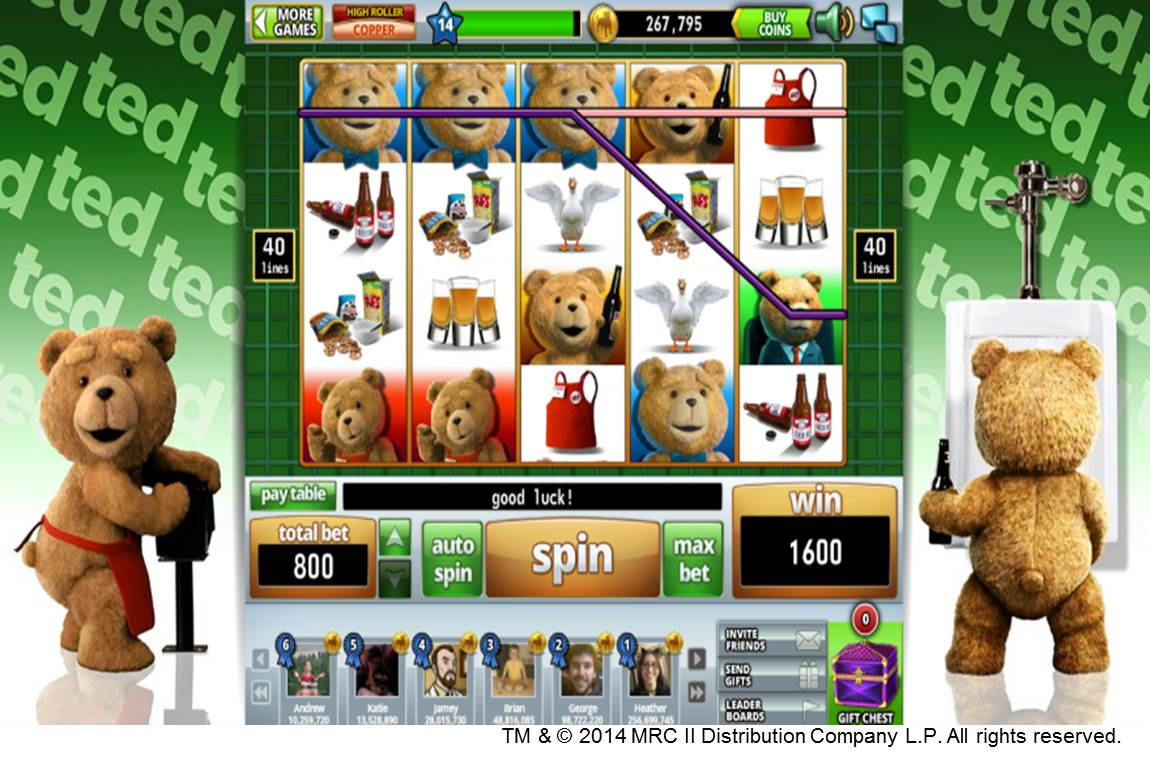 ted slot machine app