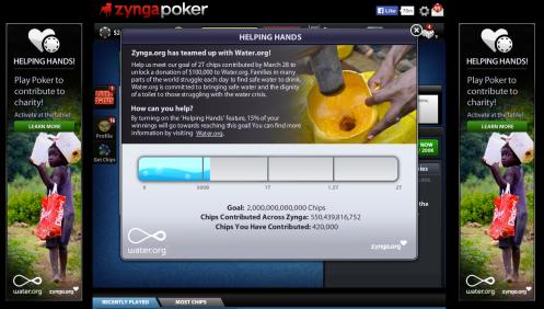 Water.org and Zynga Poker blog post