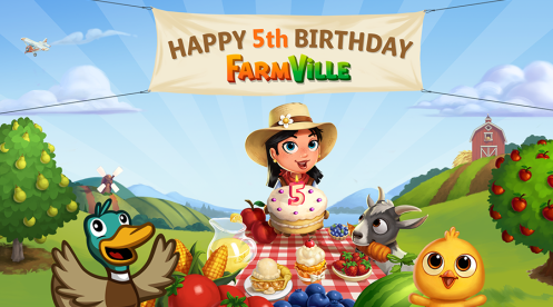 Happy Birthday FarmVille