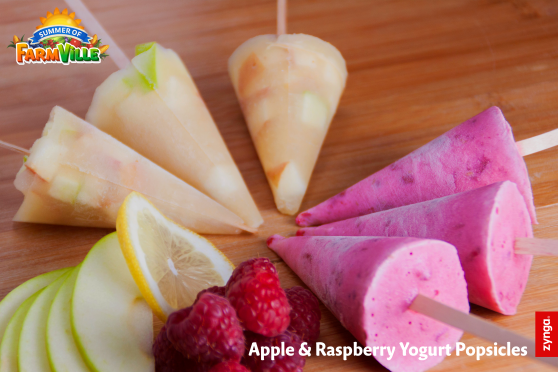 FarmVille 2 Country Escape: Raspberry Yogurt Popsicles inspired by the game! Download the recipe at: https://zynga.box.com/s/sw28345ajsdyt669xg4e