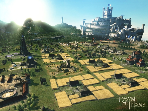 Dawn of Titans Kingdom View