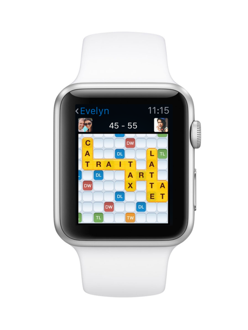Words With Friends - Apple Watch Gameboard