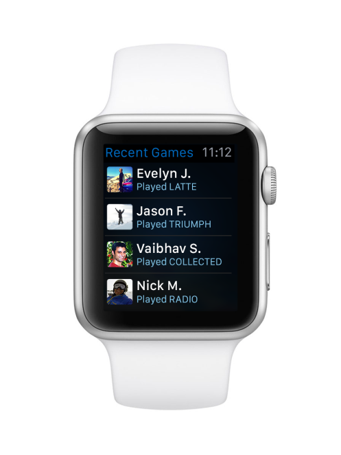 Words With Friends Apple Watch_Games List