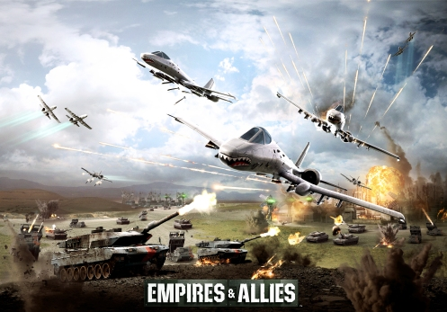 Empires & Allies  Key Art