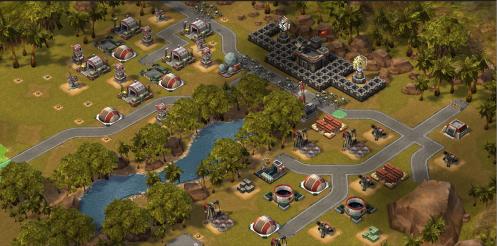 Empires & Allies New Lake Terrain